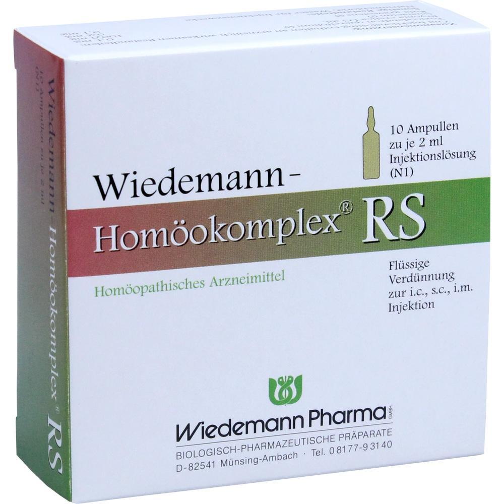 Wiedemann Homöokomplex Rs Ampullen 10X2 ml