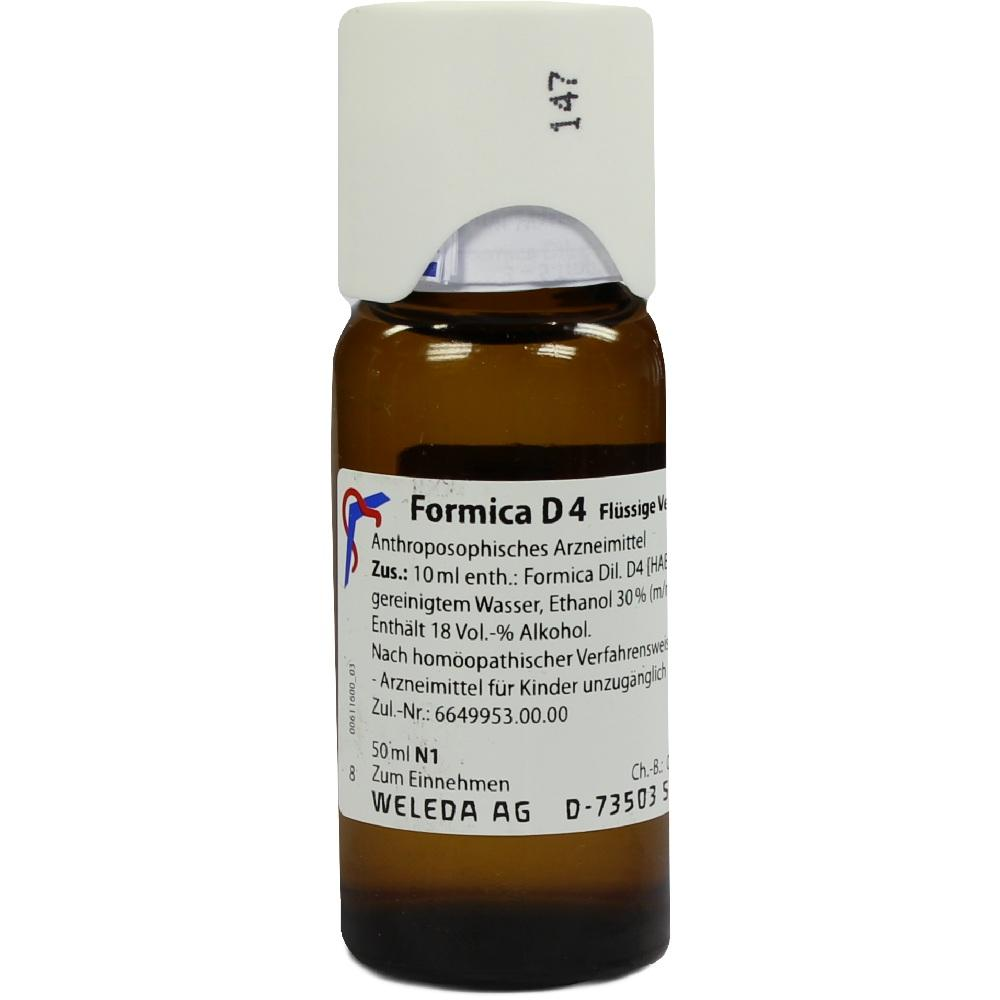 Formica D 4 Dilution 50 ml