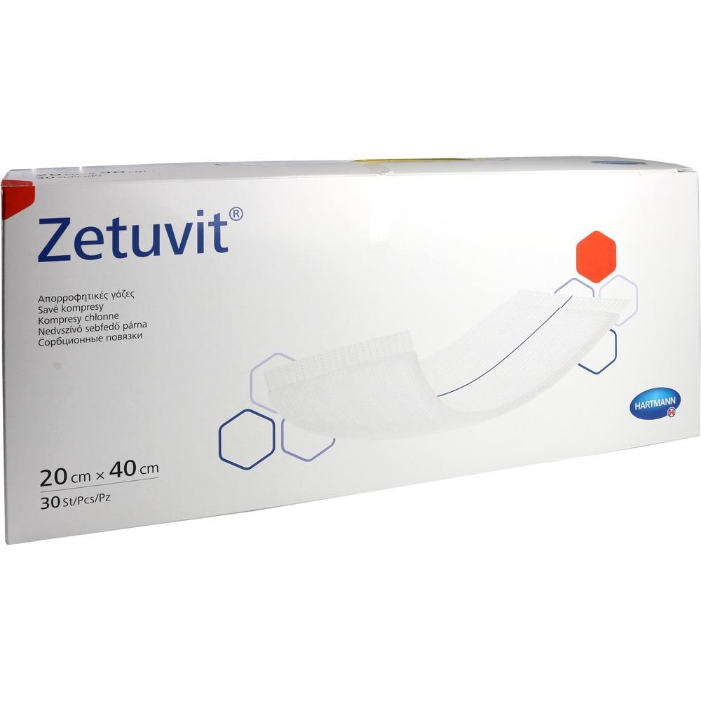 Zetuvit Saugkompressen unsteril 20x40 cm 30 St