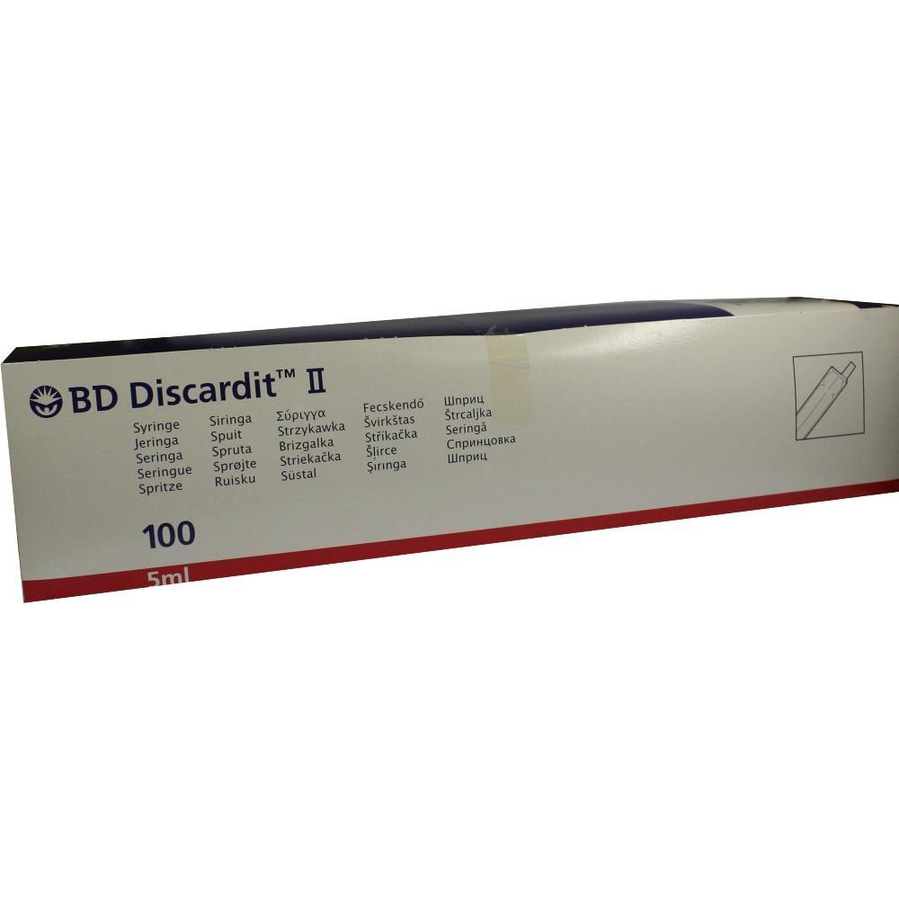 Bd Discardit Ii Spritze 5 ml 100X5 ml