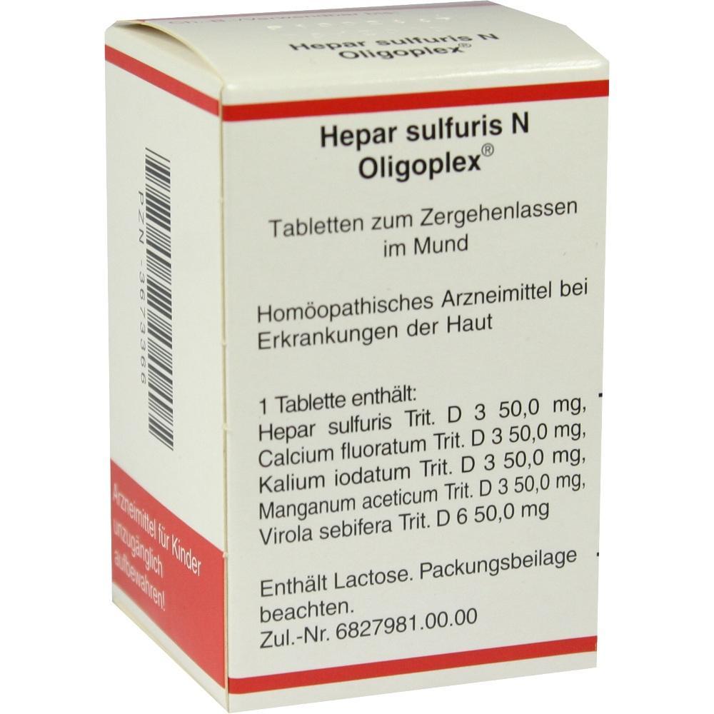 Hepar Sulfuris N Oligoplex Tabletten 150 St