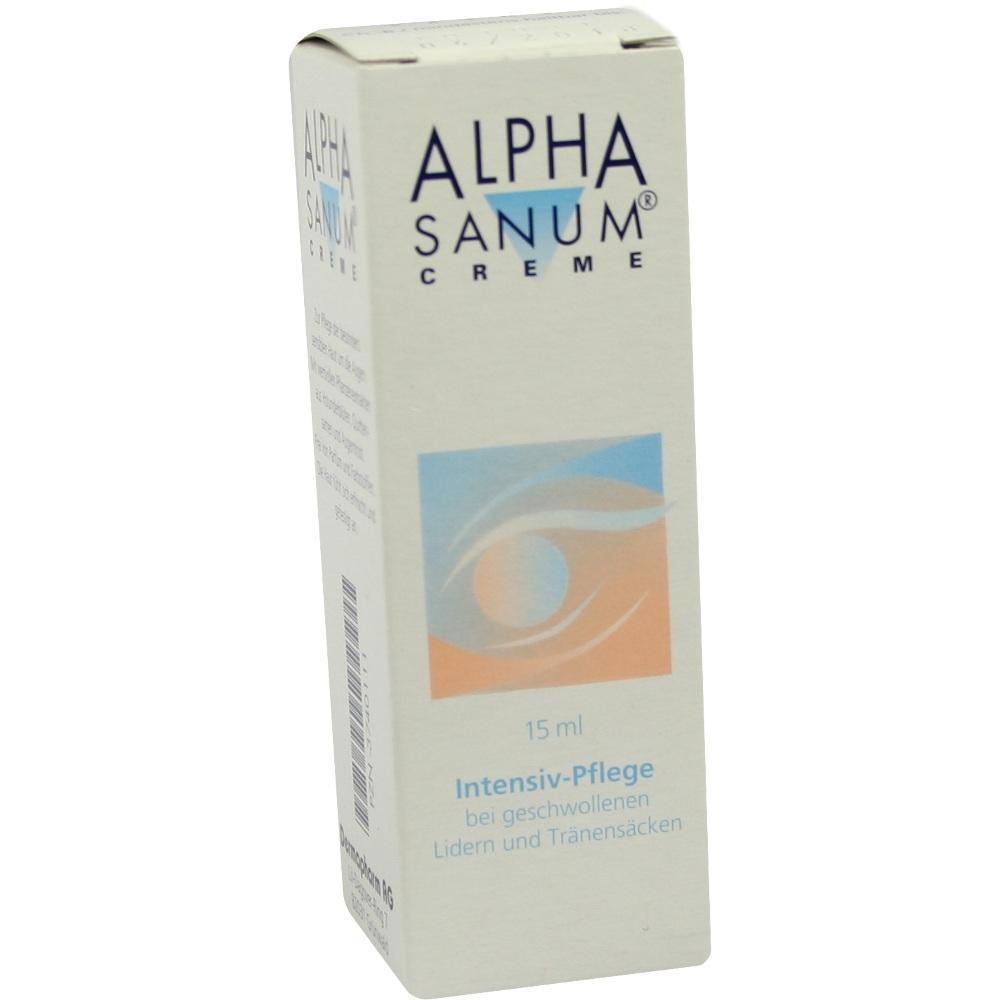 Alpha Sanum Augencreme 15 ml
