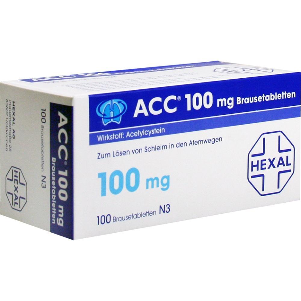 Acc 100 Brausetabletten 100 St