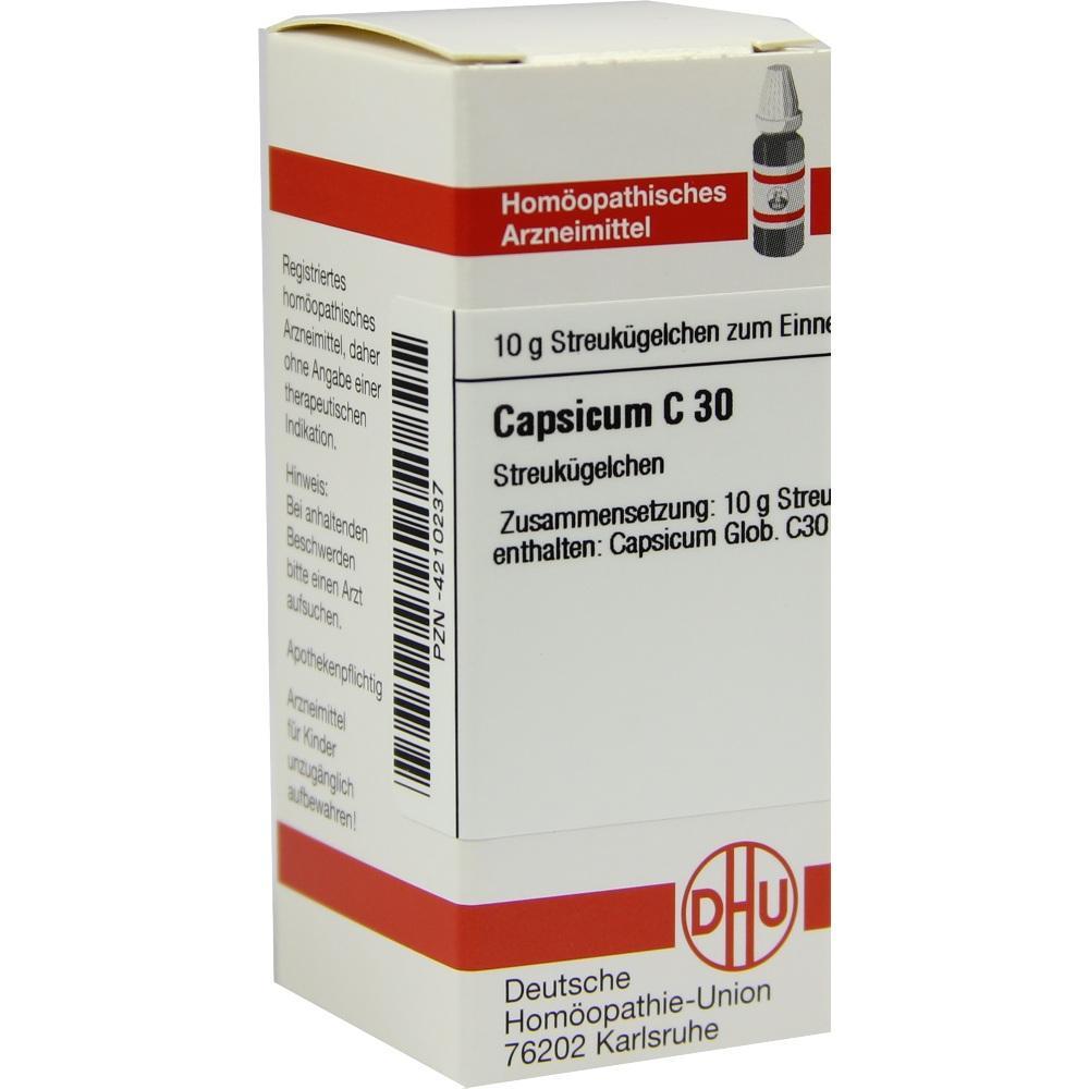 Capsicum C 30 Globuli 10 g