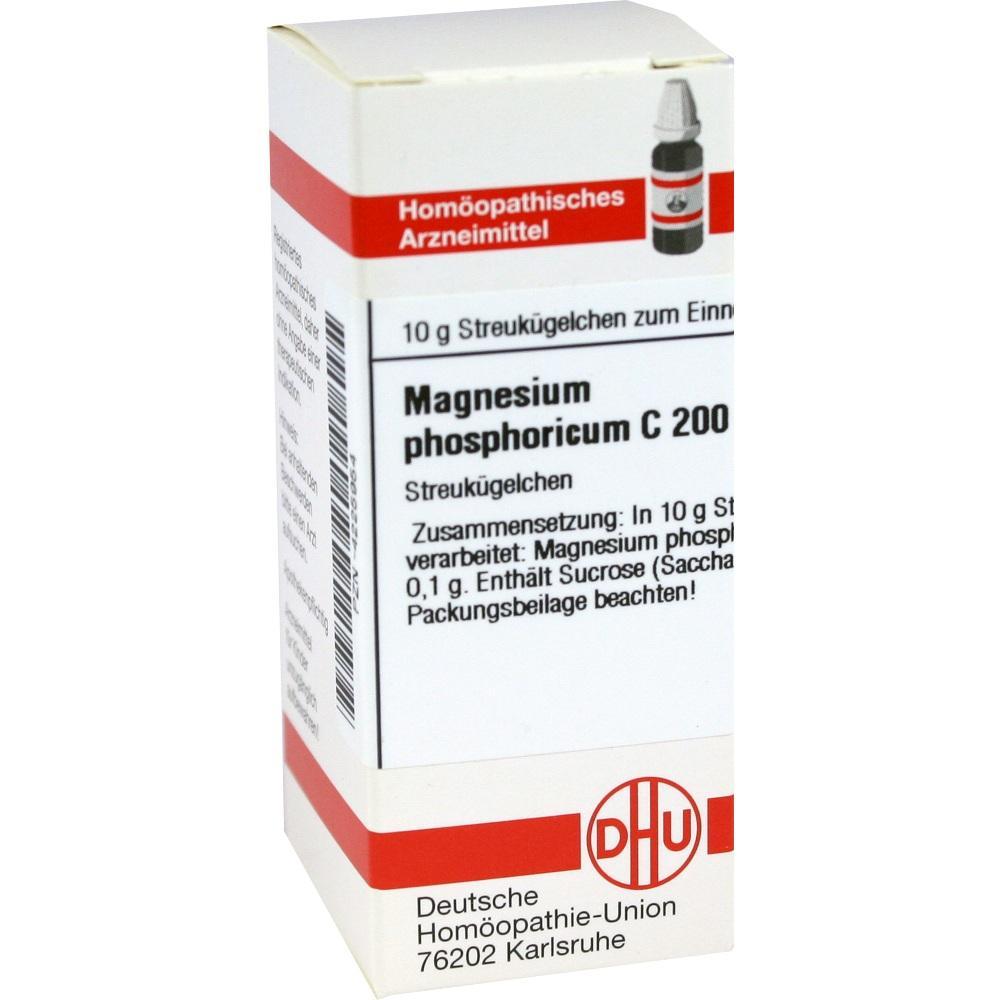 Magnesium Phosphoricum C 200 Globuli 10 g