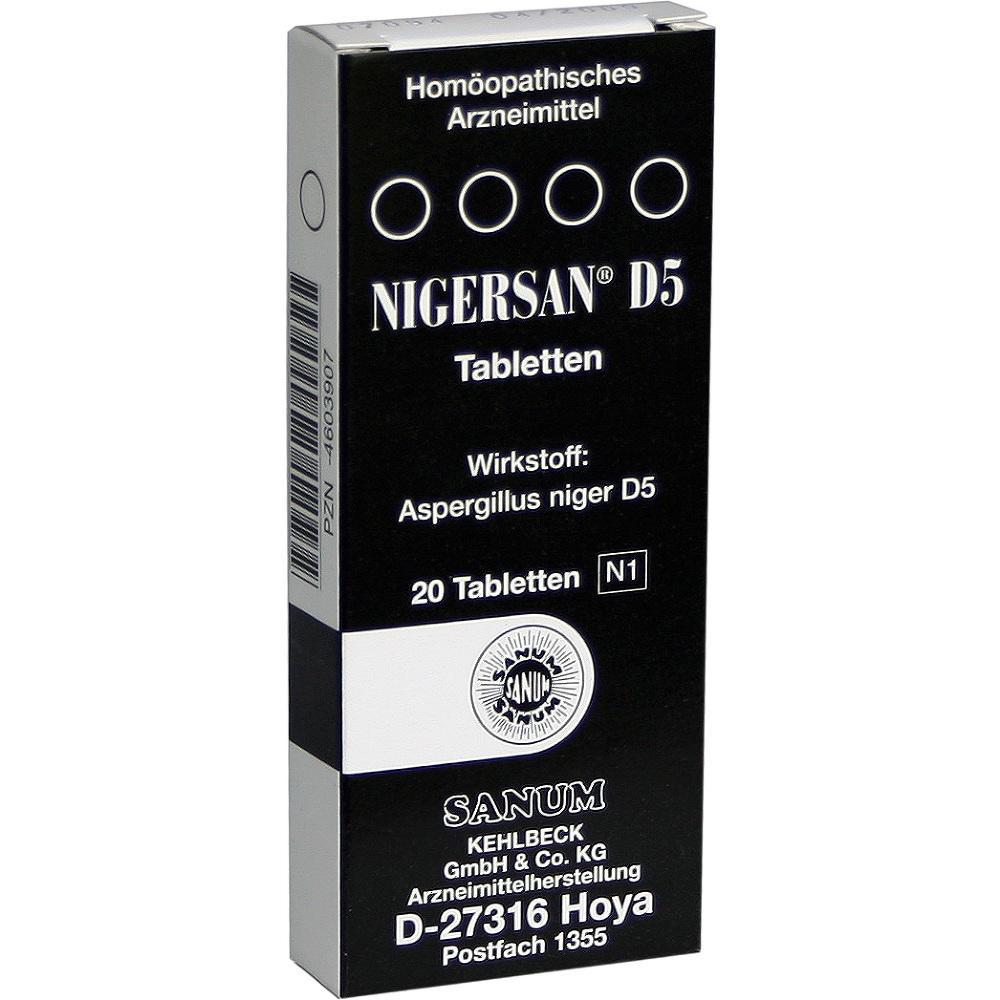 Nigersan D 5 Tabletten 20 St