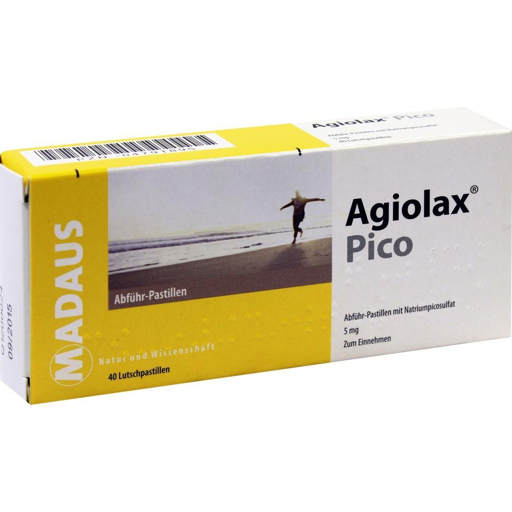 Agiolax Pico Abführ-Pastillen 40 St