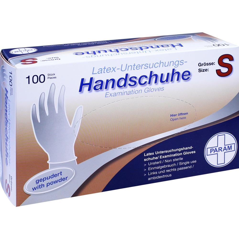 Handschuhe Einmal Latex gepudert S 100 St