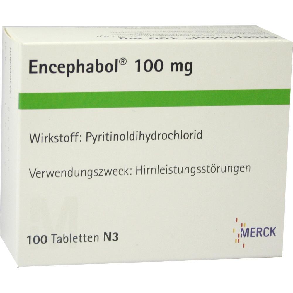 Encephabol 100 mg überzogene Tabletten 100 St