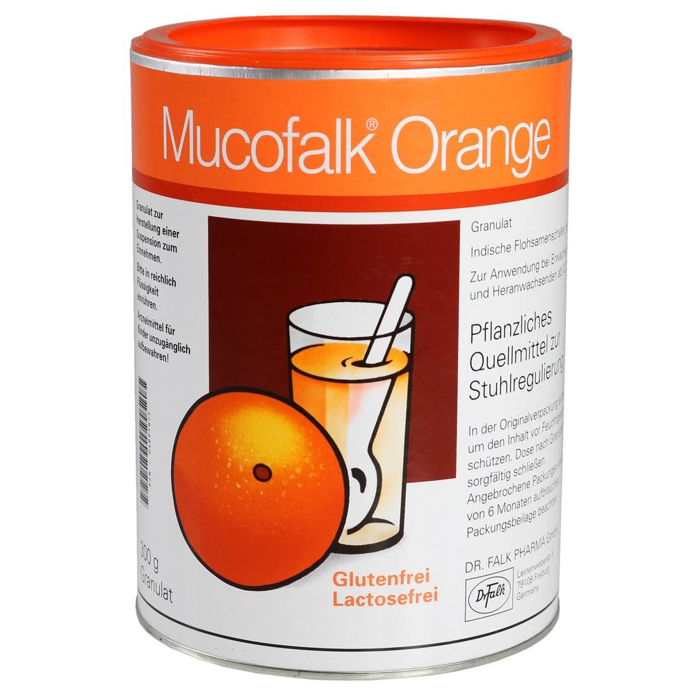 MUCOFALK Orange Granulat Dose**
