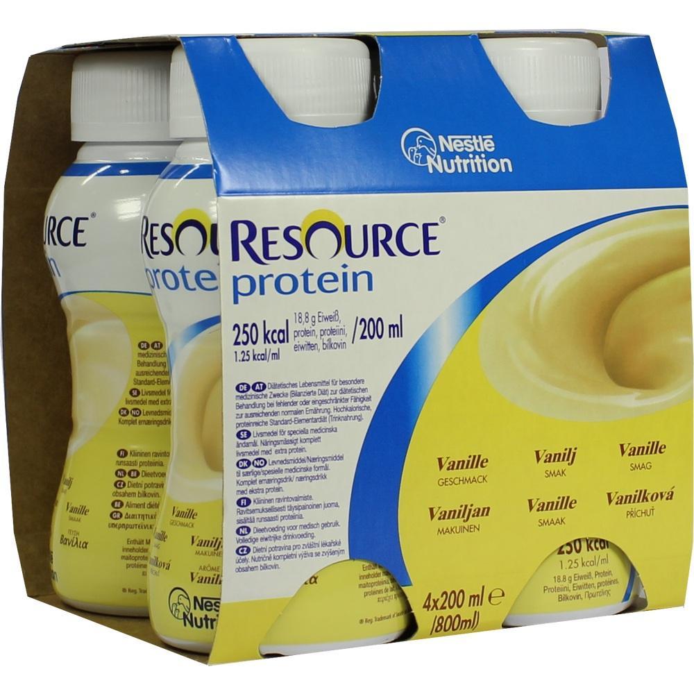 Resource Protein Drink Vanille 4X200 ml