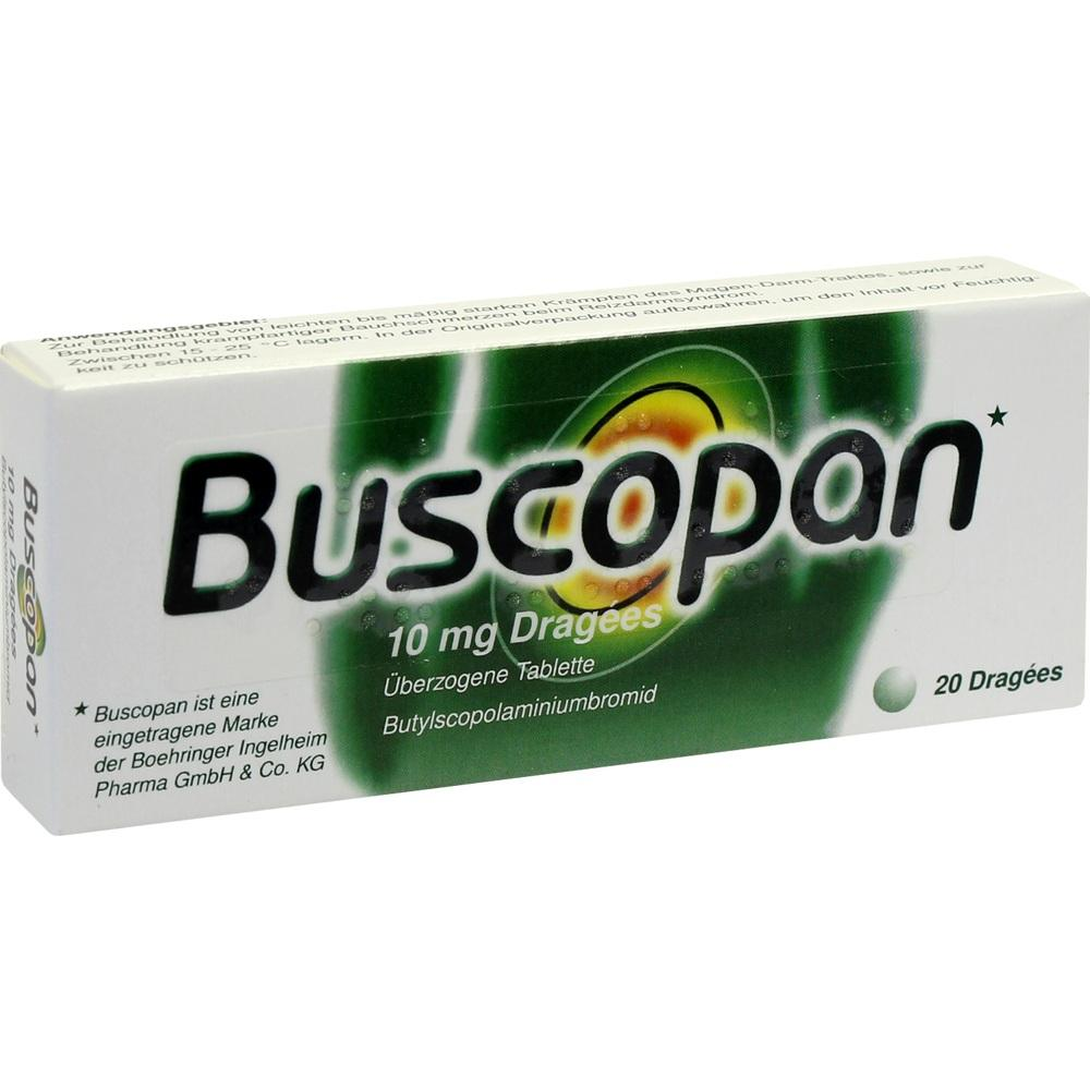 Buscopan Dragees 20 St