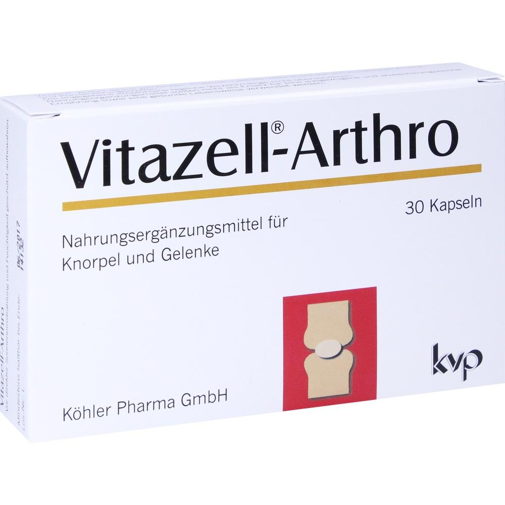 Vitazell Arthro Kapseln 30 St