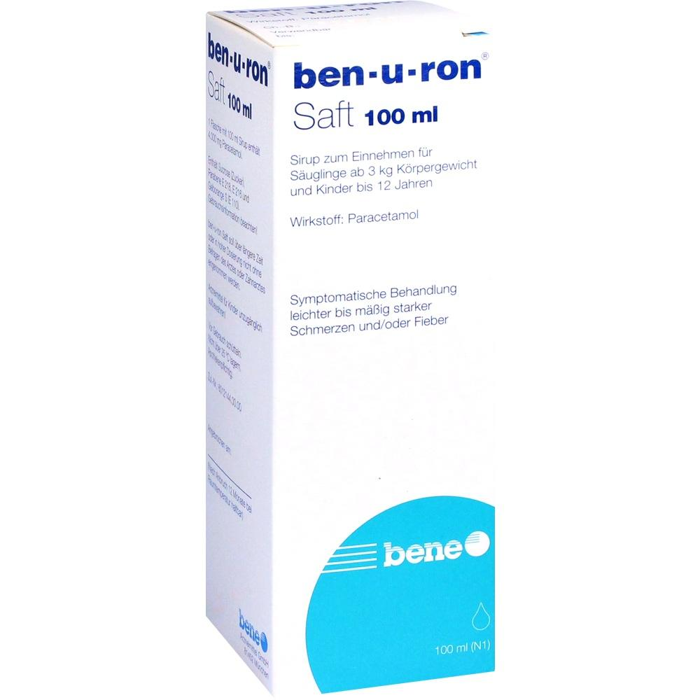Ben-U-Ron Saft 100 ml
