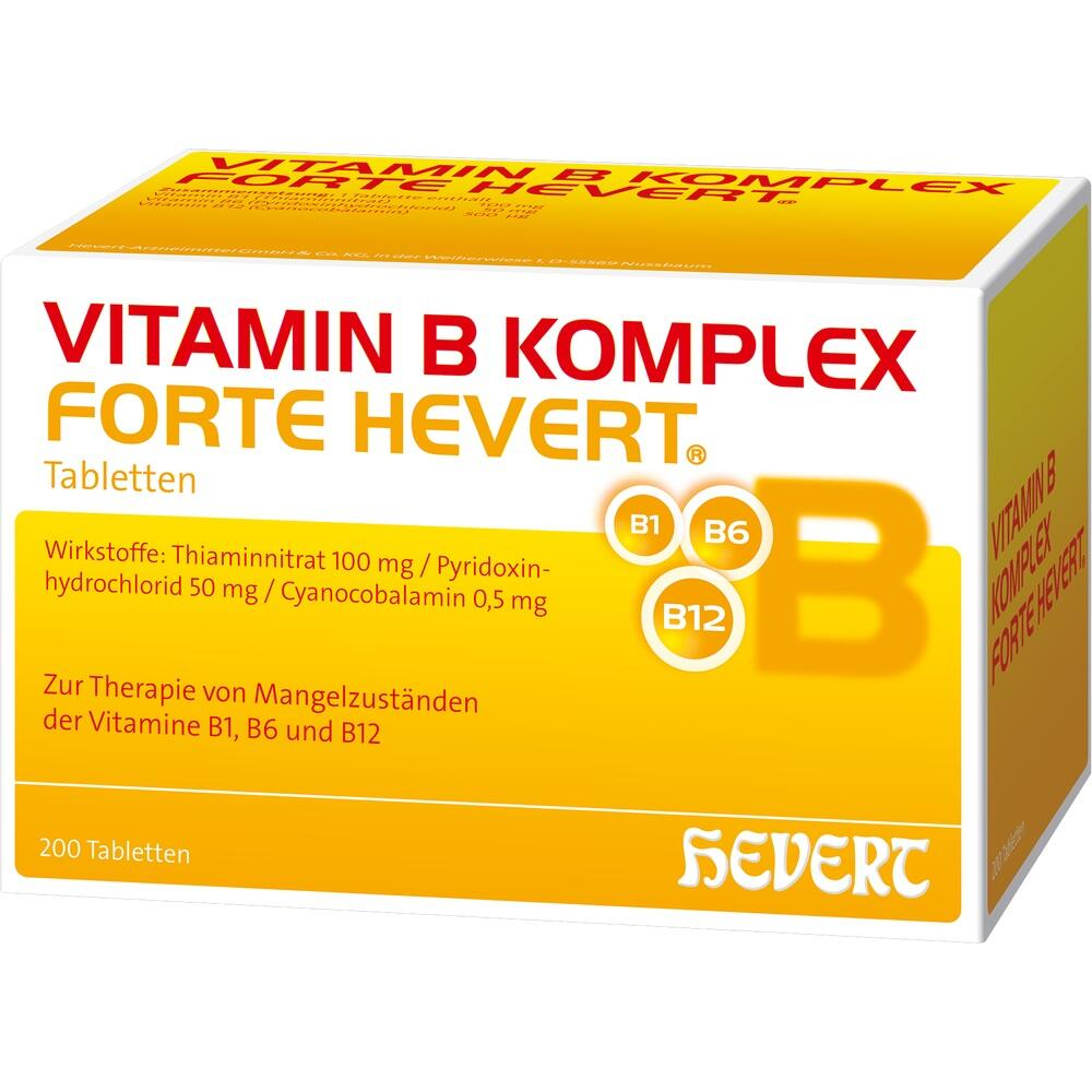 vitamin b komplex forte hevert tabletten. Black Bedroom Furniture Sets. Home Design Ideas