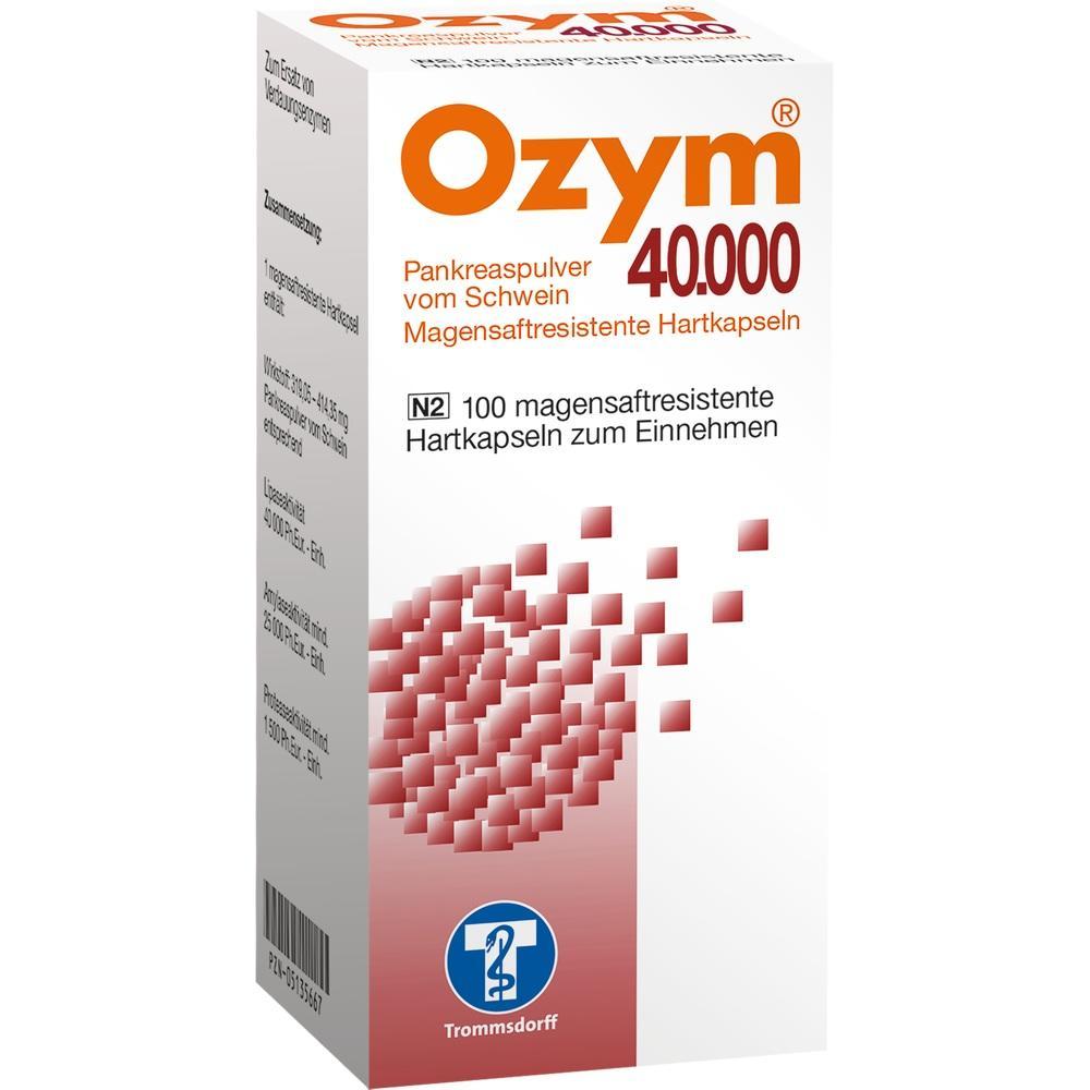 Ozym 40.000 Hartkapseln magensaftr. 100 St
