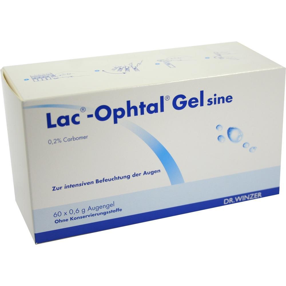 Lac Ophtal Gel sine 60X0.6 ml