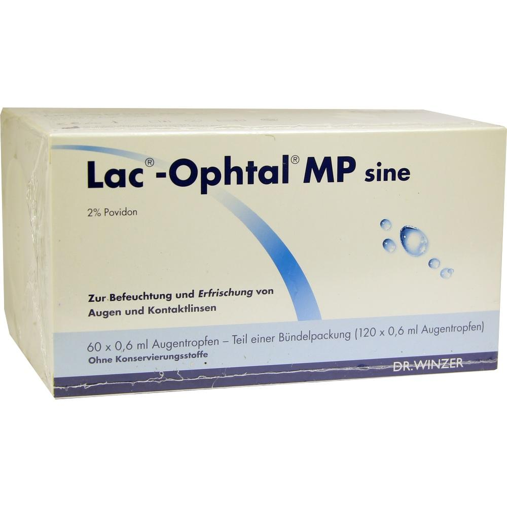 Lac Ophtal Mp sine Augentropfen 120X0.6 ml