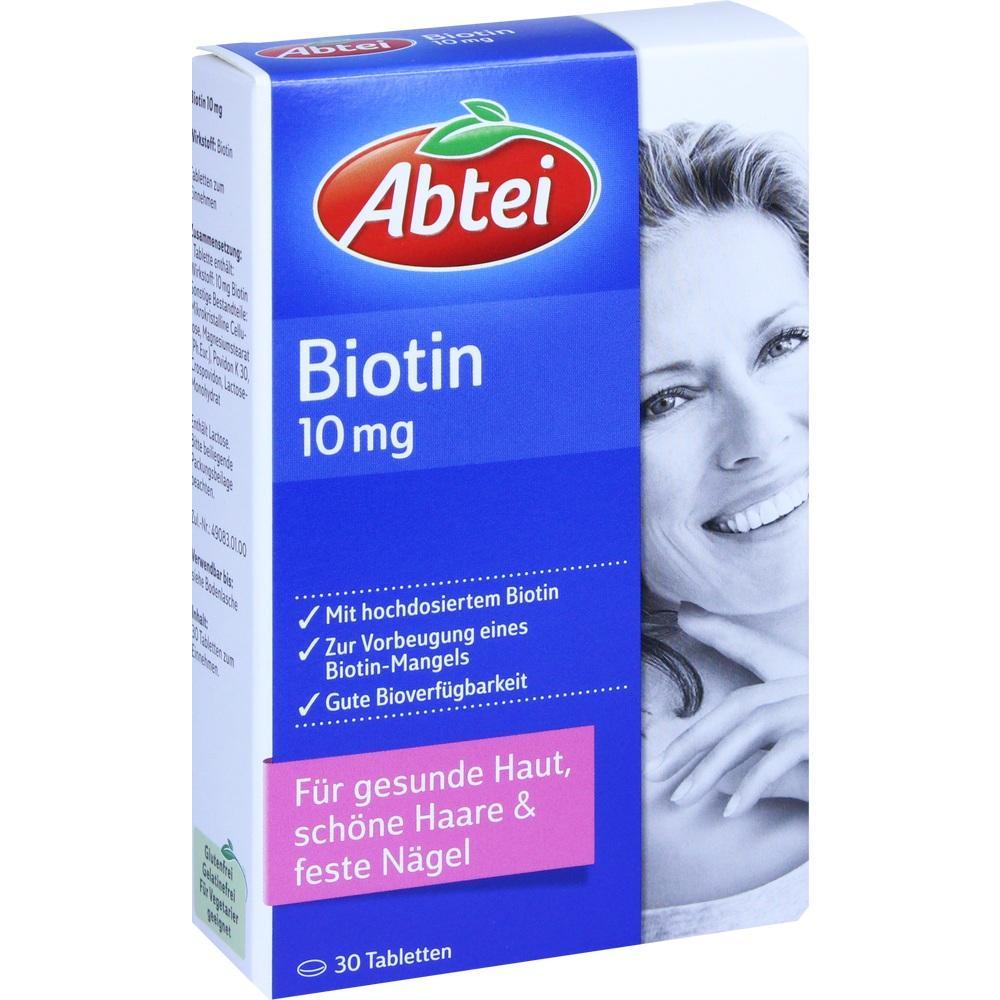 ABTEI Biotin 10 mg Tabletten**
