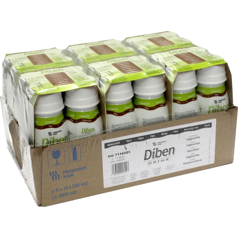 Diben Drink Cappuccino 1,5 kcal/ml 24X200 ml