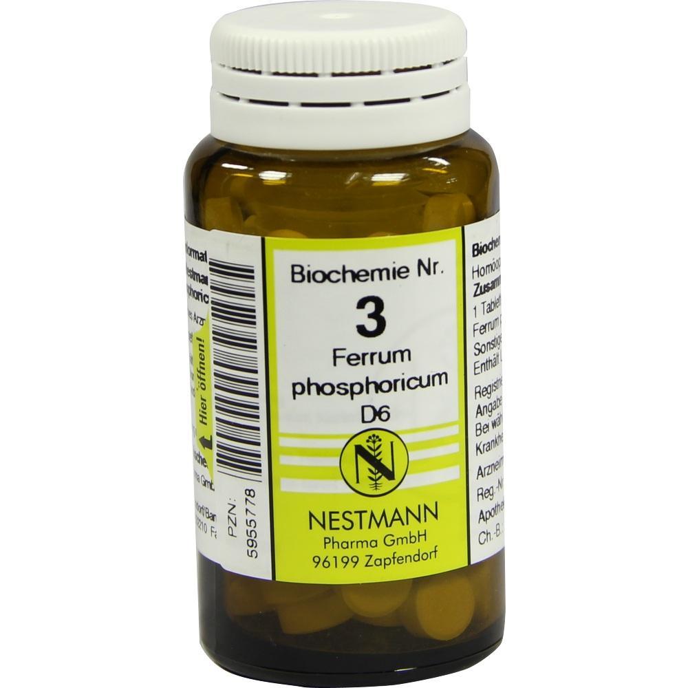 Biochemie 3 Ferrum phosphoricum D 6 Tabletten 100 St