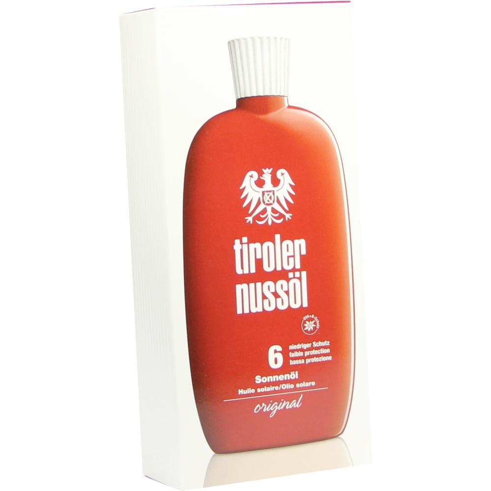 Tiroler Nussöl orig.Sonnenöl wasserfest Lsf 6 150 ml