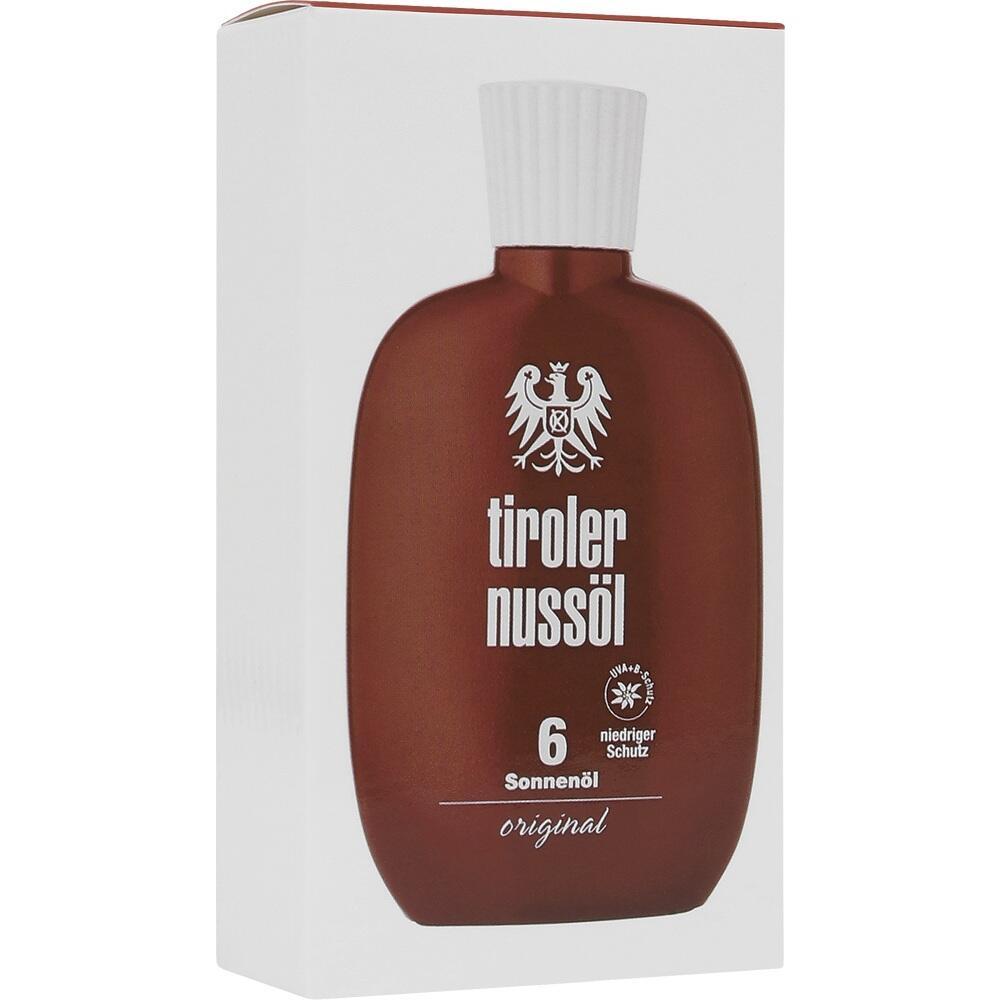 Tiroler Nussöl orig.Sonnenöl wasserfest Lsf 6 75 ml