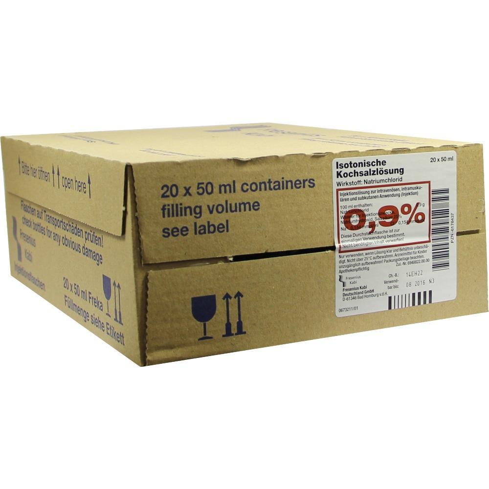 Kochsalzlösung 0,9% Freka-Fl.Fresenius 20X50 ml