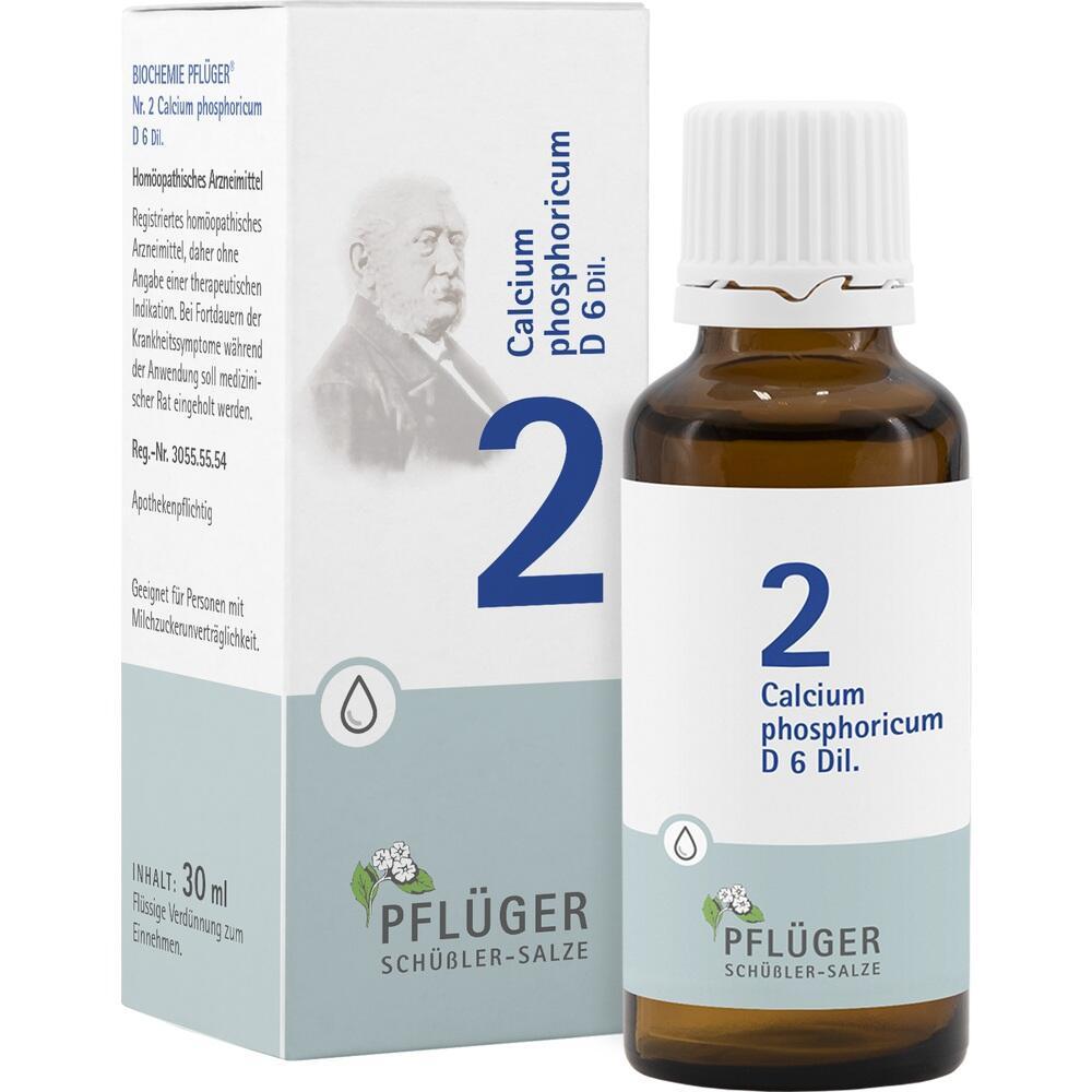 Biochemie Pflüger 2 Calcium phosphoricum D 6 Tro. 30 ml