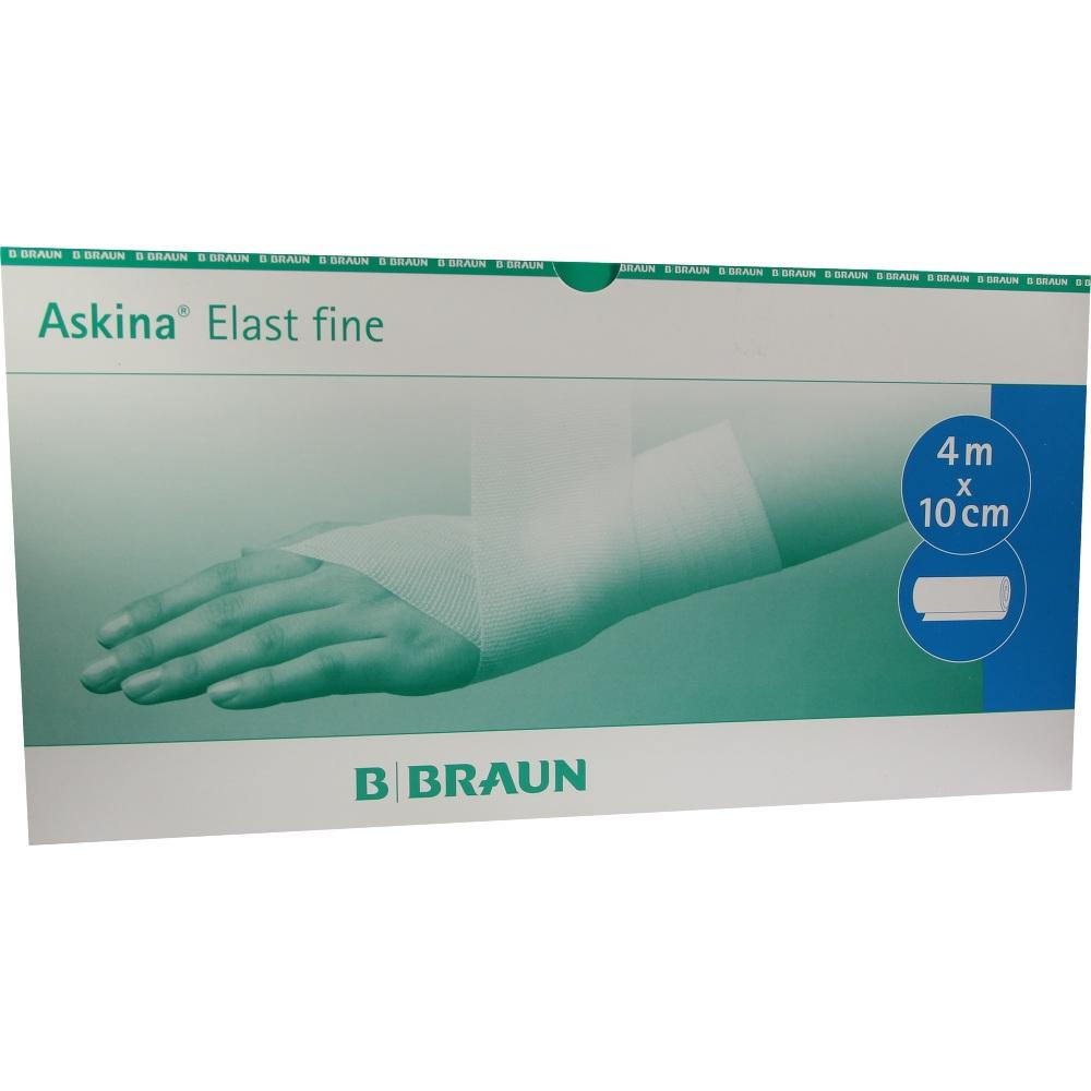Askina Elast Fine Binde 10 cmx4 m lose 50 St