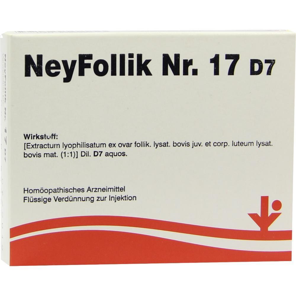 Neyfollik Nr.17 D 7 Ampullen 5X2 ml