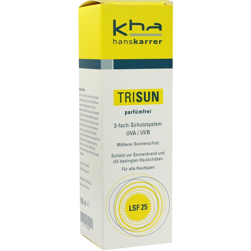 Trisun Sonnenschutzgel Lsf 25 parfümfrei 100 ml