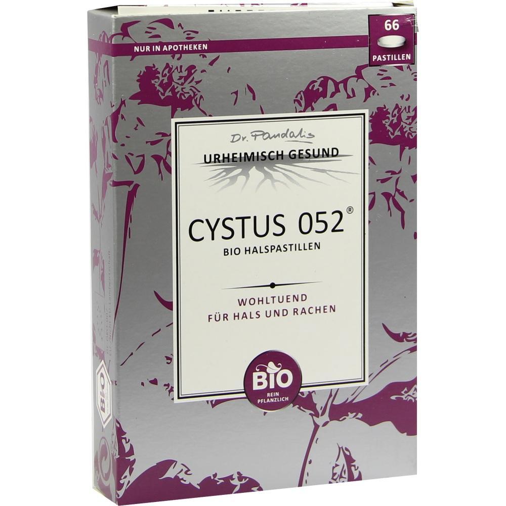 Cystus 052 Bio Halspastillen 66 St