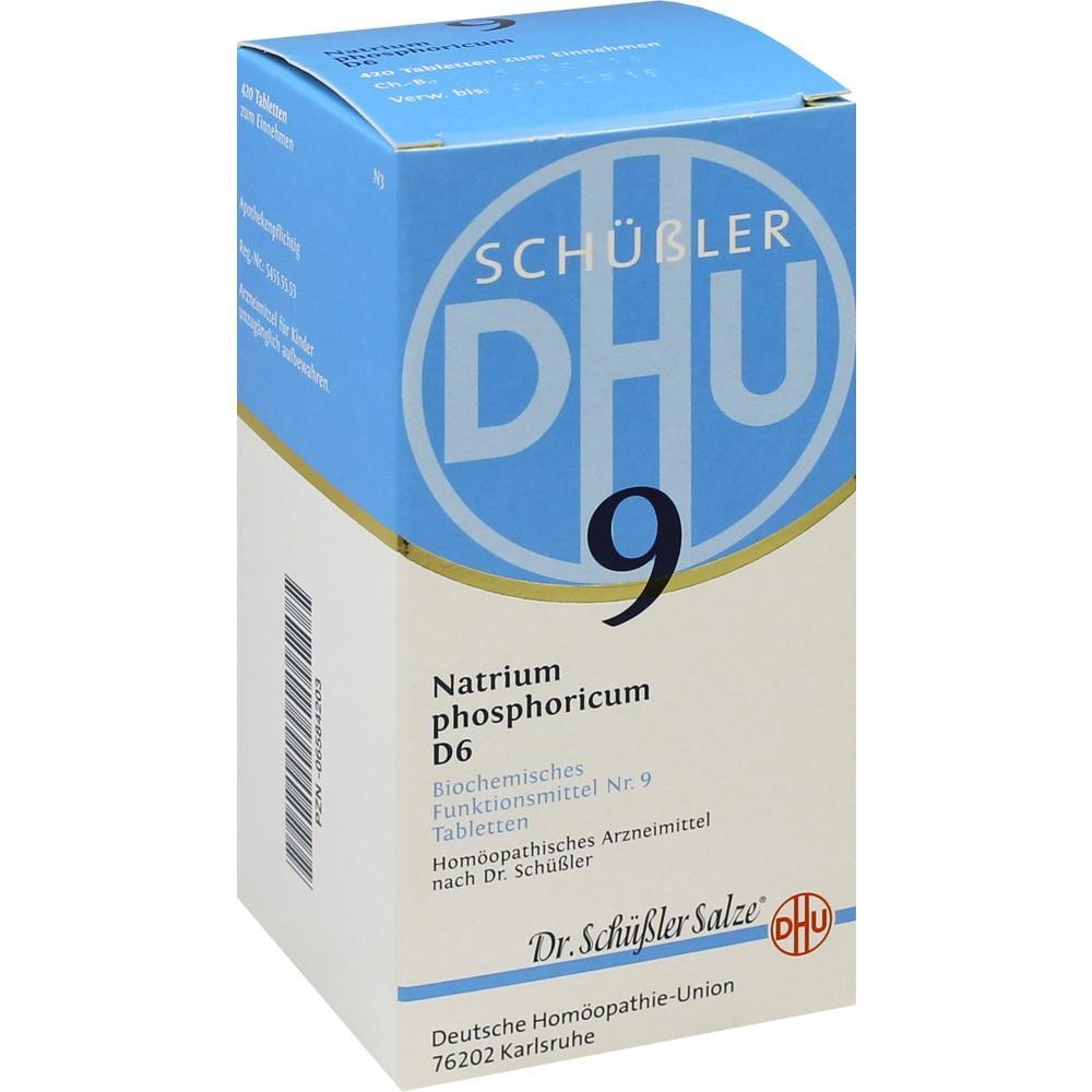 BIOCHEMIE DHU 9 Natrium phosphoricum D 6 Tabletten**