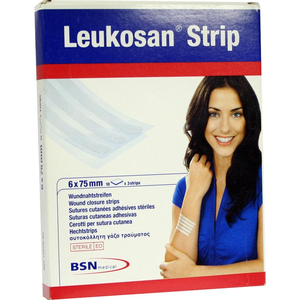 Leukosan Strip 6x75 mm 10X3 St