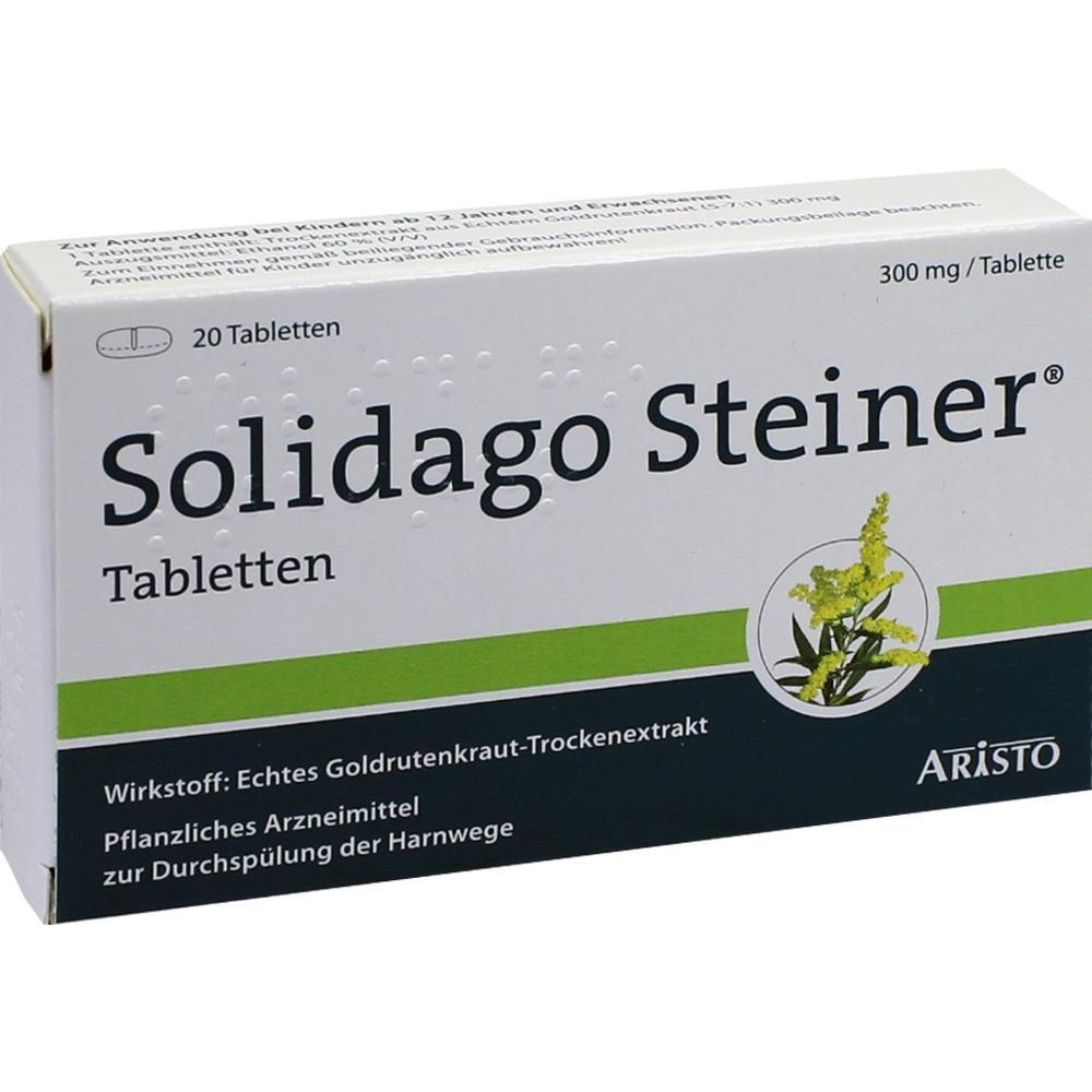 Solidago Steiner Tabletten 20 St