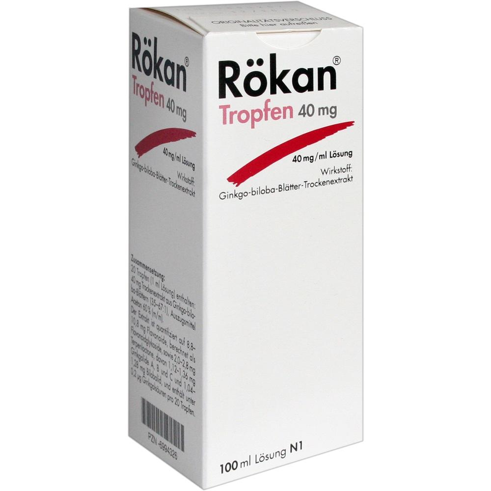 Rökan Tropfen 40 mg 100 ml