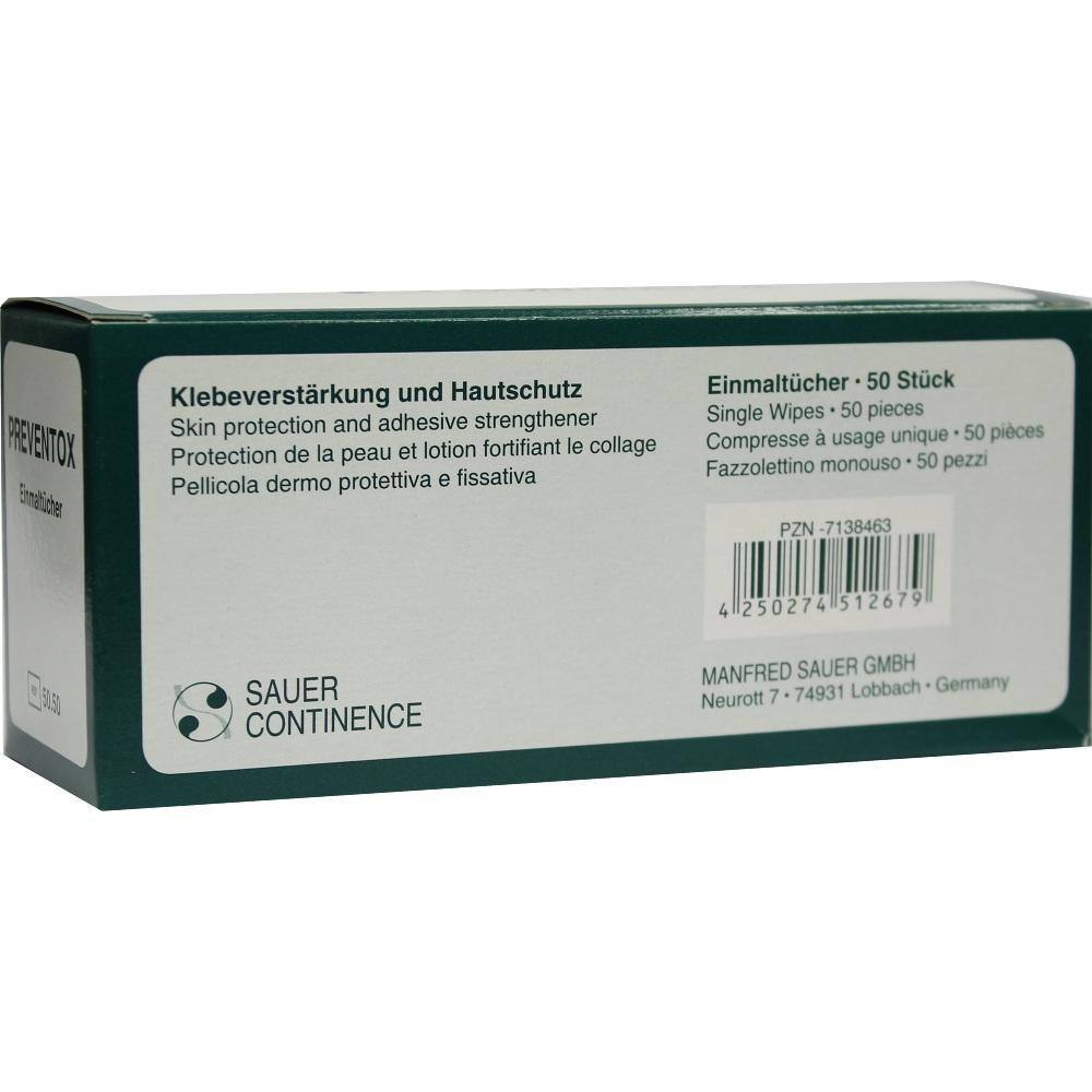 Preventox Einmaltücher 5050 50 St