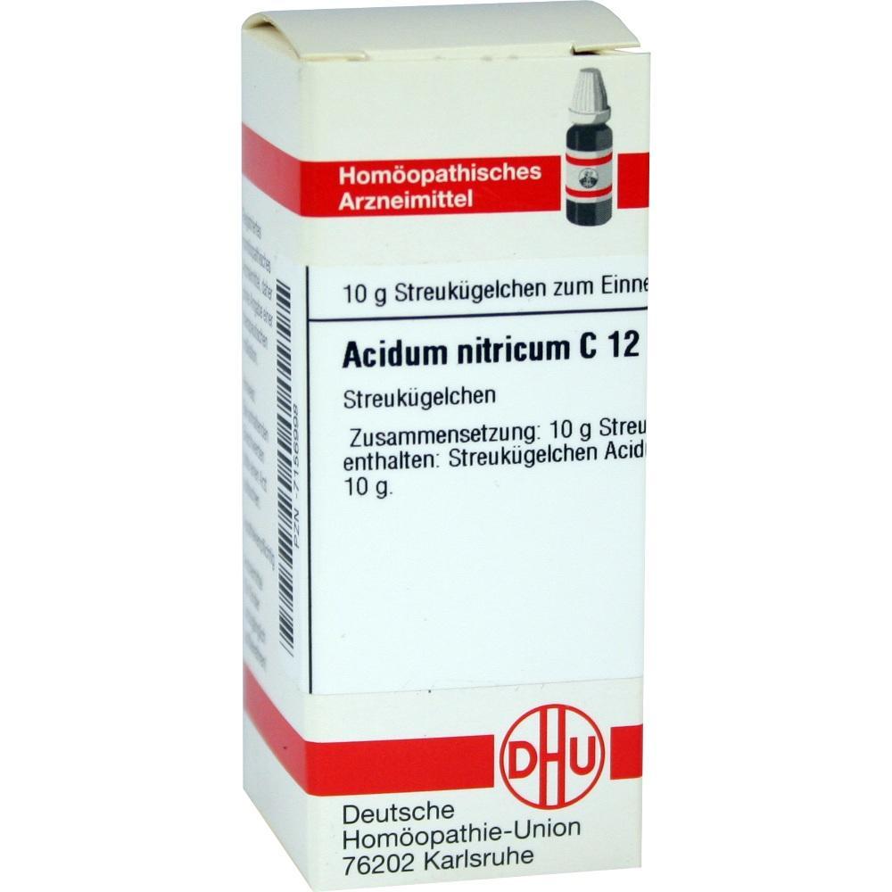 Acidum Nitricum C 12 Globuli 10 g