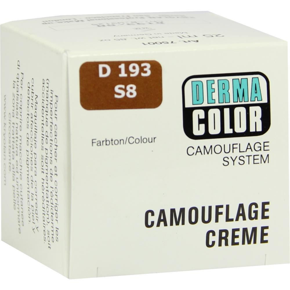 Dermacolor Camouflage Creme S 8 brazil 25 ml