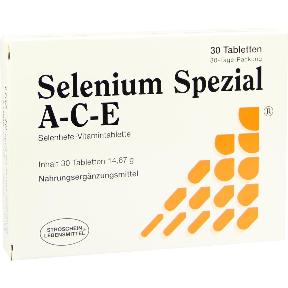 Selenium Spezial Ace Tabletten 30 St