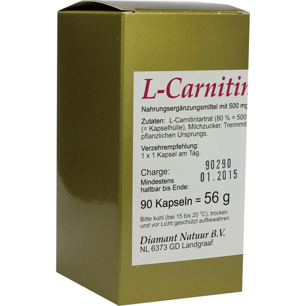 L-Carnitin 1x1 pro Tag Kapseln 90 St