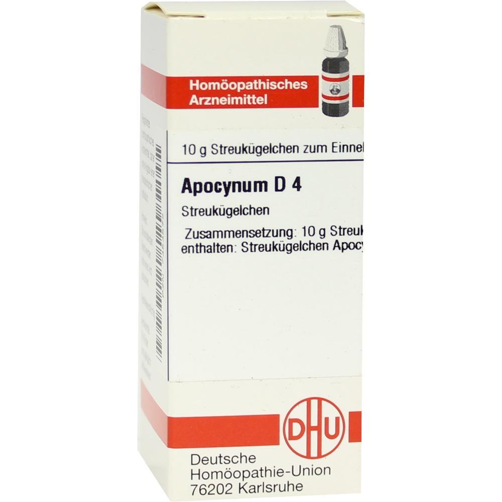 Apocynum D 4 Globuli 10 g