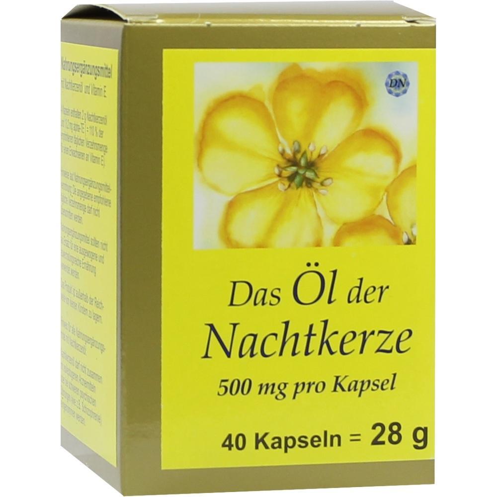 Nachtkerze Öl Kapseln 500 mg 40 St