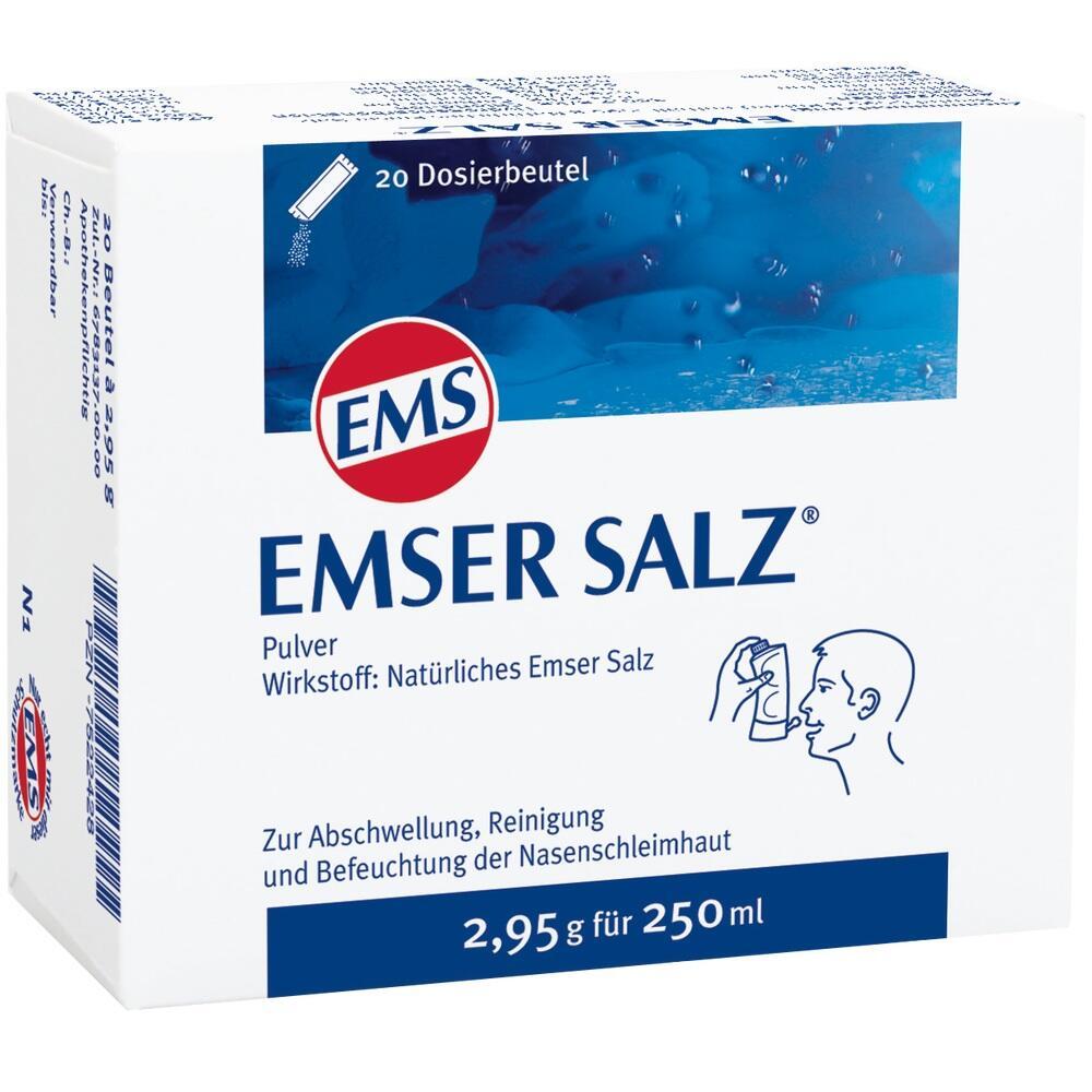 Emser Salz Beutel 20 St
