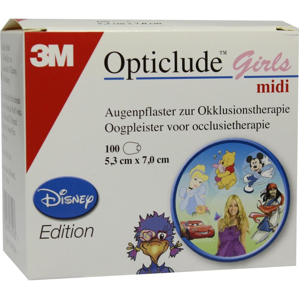 Opticlude 3M Disney Girls midi 2538Mdpg-100 100 St