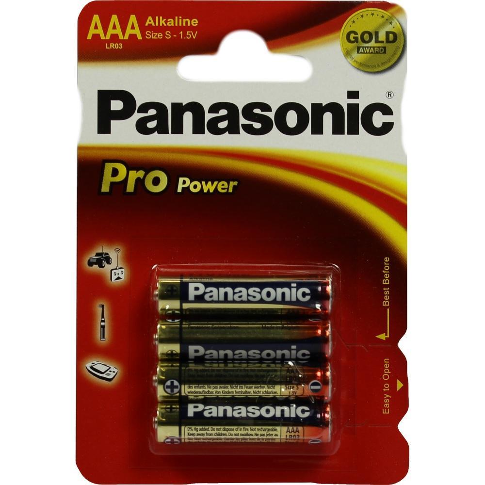 Batterien Micro 1,5V Lr03 Alkali 4 St