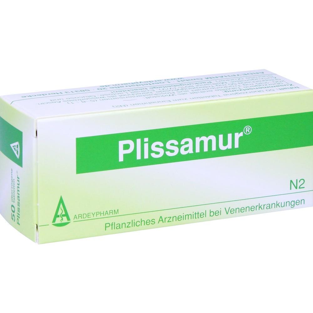 Plissamur Dragees 50 St