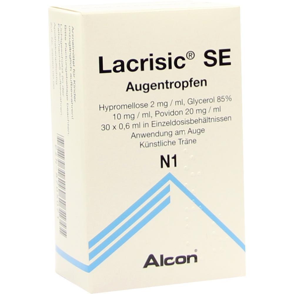 Lacrisic Se Einzeldosispipetten 30X0.6 ml
