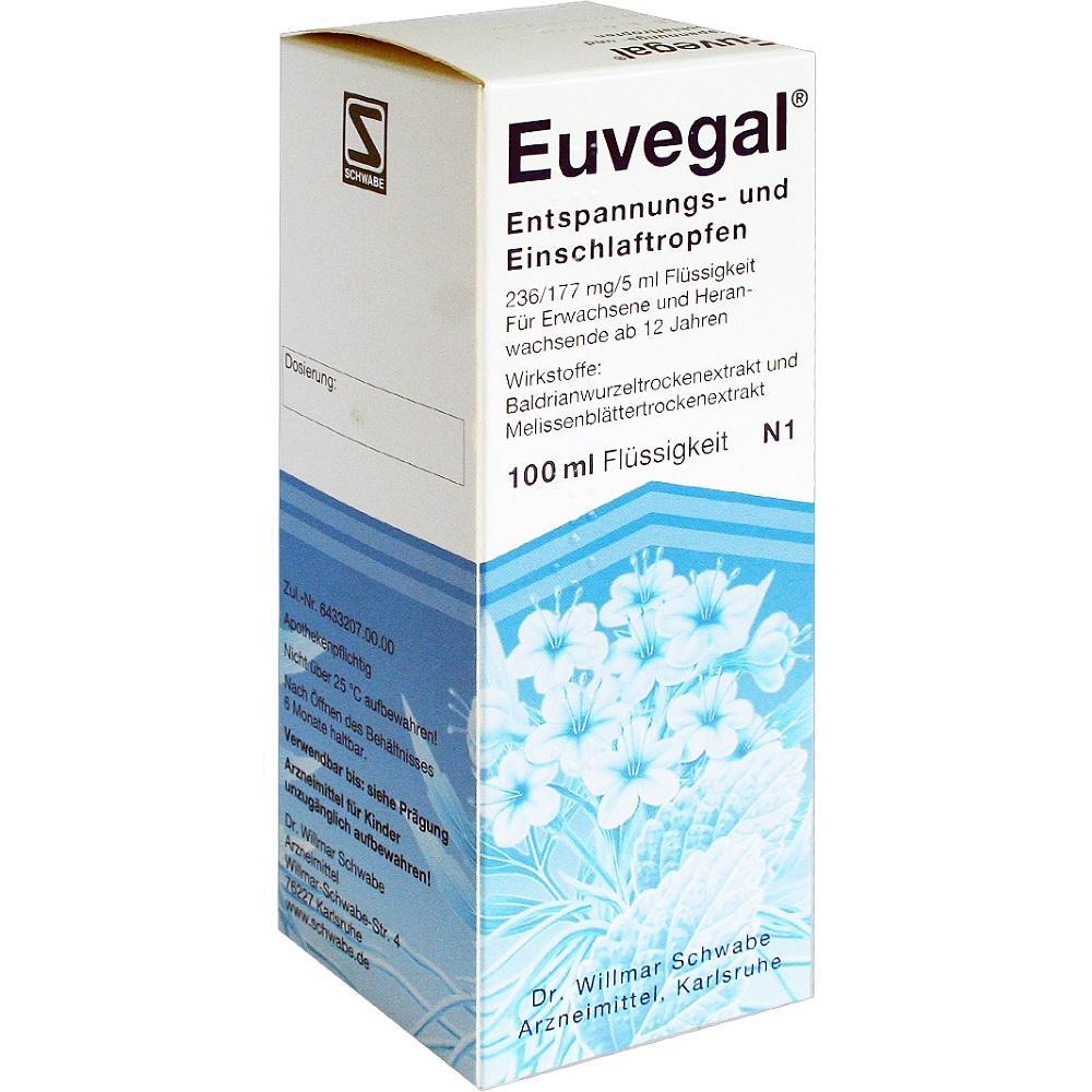 Euvegal Entspannungs- und Einschlaftropfen 100 ml